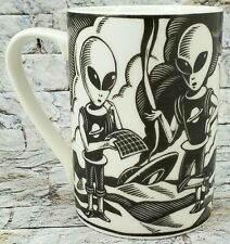 ROSWELL NEW MEXICO Alien Coffee MUG White 14 Oz AREA 51 Martian Drinking CUP