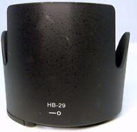 HB-29 Lens hood for Nikon 70-200mm f2.8 G- AF-S ED VR Nikkor - Free Shipping USA