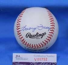 Lonny Frey Signed Jsa Coa Feeney National League Baseball Autograph Authentic