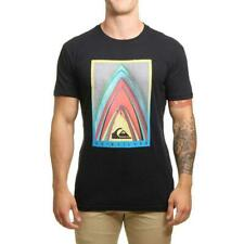 Quiksilver Stacked T-Shirt Noir Quiksilver Homme Vêtements T-Shirts