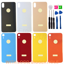 Replacement Back Glass Rear Housing Battery Cover For Apple iPhone 8 X XR XS Max