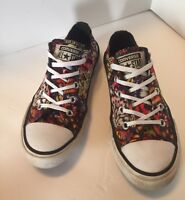 Converse Chuck Taylor All Star Lo Top Sneaker Youth Size 13 Butterflies ~Fire~