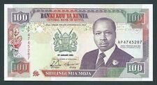 F.C. KENIA KENYA , 100 SHILLINGS 1992 , S/C ( UNC ) , P.27d .