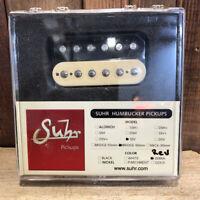 Suhr SSV Humbucker Guitar Pickup, Bridge Position, 50mm Spacing, Reverse Zebra