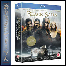 BLACK SAILS - COMPLETE SEASONS 1 2 3 & 4  **BRAND NEW BLU-RAY BOXSET***