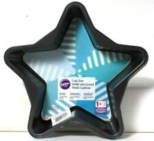 1 Count Wilton Star Shaped Non Stick For Easy Release Cake Pan