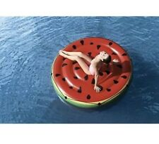 H2OGO! Watermelon Island Inflatable Float Swimming Pool Fun 74in/1.88m Diameter