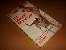 The Bloody Medallion by Richard Telfair, Gold Medal #847, 1st, 1959, Vintage PB!