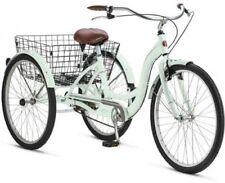 Adult Tricycle Bike Schwinn Meridian Bicycle 3 Wheel Trike Mint Folding Basket