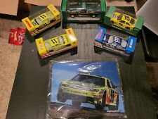 Menards Racing Die-Cast 5 Car Lot+ Mouse Pad Paul Menard Dale Earnhard Jr NASCAR