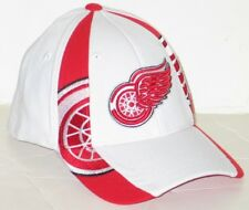 DETROIT RED WINGS NHL HOCKEY ZEPHYR WHT STANDOUT FLEX FIT FITTED HAT/CAP XL NEW