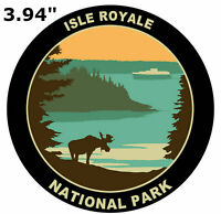 Isle Royale National Park - Car Truck Window Bumper Graphics Sticker Decal