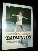 Guinness Book of Badminton By Pat Davis