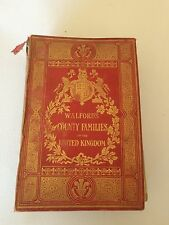 1914 Walford's County Families of the United Kingdom Peerage Baronetage Walfords