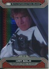 Star Wars Chrome Perspectives II Prism Parallel Base Card 19-S Han Solo