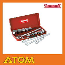 Sidchrome Socket Set 3/4'' Dr Metric 17 Piece - SCMT15205