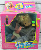 Rare Cyclin Chrissie Vintage 1990 Cititoy Doll No. 6542 New in box