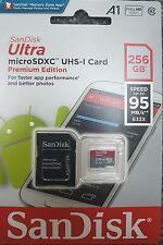 Genuine SanDisk 256GB Ultra 95MB/s Class 10 Micro SD SDXC Memory Card Premium