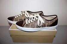 NEW Women's sz 7.5 MICHAEL Michael Kors MK Logo Print City Sneaker/Tennis Shoes