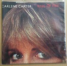 "Carlene Carter - Ring Of Fire UK 1980 7"" PS F-Beat Recs, Poster Sleeve"