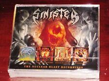 Sinister: The Nuclear Blast Recordings 4 CD Box Set 2018 Dissonance Prod. UK NEW