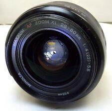Konica Minolta AF XI 28-80mm f4-5.6 Lens (aperture blades stuck w/ oil) - Parts