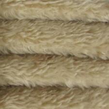 "1/6 yd 785V Bone Intercal 3/4"" Med. Dense Vintage Finish German Mohair Fabric"