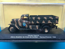 "DIE CAST ""CITROEN TYPE 23 TANNAY (FRANCE) - 1940"" MEZZI MILITARI SCALA 1/43"