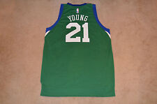 Thaddeus Young 76ers Adidas St Patrick's Day NBA Swingman Jersey XL (New)