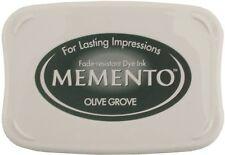 Memento Ink Pad - Olive Grove