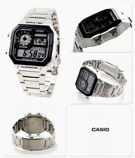 Casio Mens Chrono,World Time Alarm  Led Watch Light Weight Illuminator (p65)