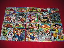 Mixed Lot US Bronze Age Avengers Comics
