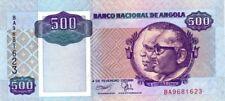 Angola billet 1991 neuf de 500 kwanzas pick 128b UNC