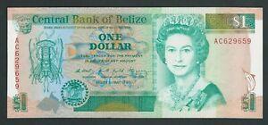 BELIZE  1  DOLLARS 1990  P- 51  UNC
