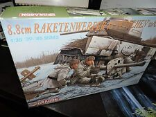 DRAGON  1:35th SCALE 8.8 cm RAKETENWERFER  PUPCHEN &CREW MODEL KIT #6097