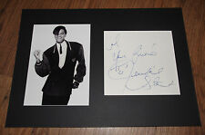 Jermaine Stewart (+' 97) signed autógrafo en 25x35 cm Passepartout inperson Look