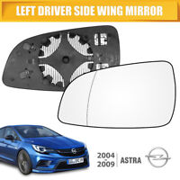 FITS VAUXHALL ASTRA H MK5 WING MIRROR GLASS HEATED LEFT PASSENGER NEARSIDE 04-08