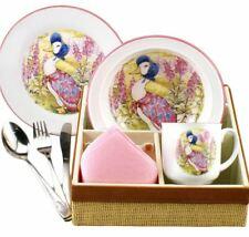 Jemima Puddleduck-Porcelain Dining Set-Bowl/Mug/Plate/Cutlery-Reutter Porzellan