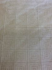 symphony mills fabric cream squares carved velvet by the half metre