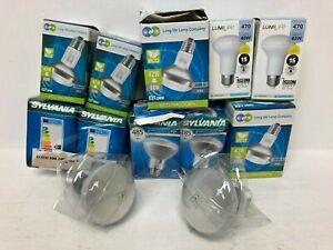 Job Lot Light Bulbs Bundle Boxed Screw LED x16 Items E46
