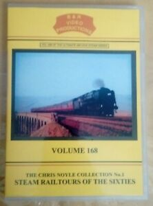 B & R dvd 168 Steam Railtours in the Sixties Railways video