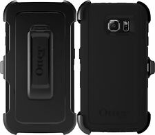 New Original OtterBox Defender Black Case for Samsung Galaxy S6