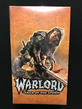 Warlord Saga Of The Storm Counter Aattack Booster Box - Factory Sealed