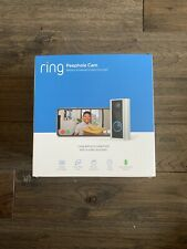 RING PEEPHOLE CAM 1080p Video Camera Doorbell and Two-Way Talk - Brand New