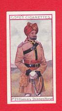 COPE BROS. & CO. LTD. -  RARE  MILITARY  CARD - BRITISH  REGIMENTS  NO.15 - 1908
