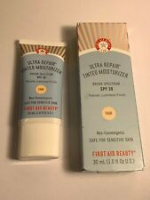 FIRST AID BEAUTY ULTRA REPAIR TINTED MOISTURIZER FAIR WITH SPF 30  1 FL OZ 30 ML