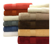 Luxurious and Extra Absorbent Plush 100% COTTON 6-pc Towel Set