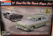 1957 FORD DEL RIO RANCH WAGON 1:25 SCALE MONOGRAM 2n1 PLASTIC MODEL CAR KIT