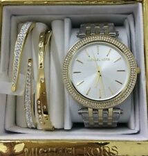 Michael Kors  Darci Two-tone Watch and Bangle Set