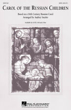 Carol of the Russian Children SATB & Piano Choir Vocals Voice MUSIC CHORAL SCORE